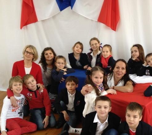 3-ий клас на святі Франкофонії