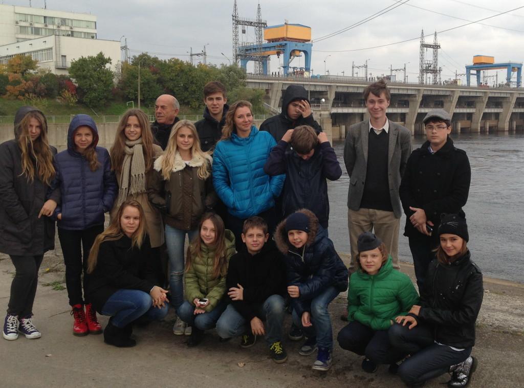 Учні колежу МФШ в рамках проекту